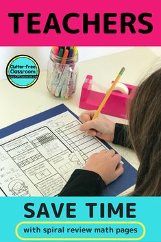 Prep an entire year of homework at once, PLUS save valuable classroom time!