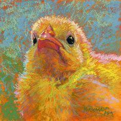 Happy Easter! - Original Fine Art for Sale - © by Rita Kirkman