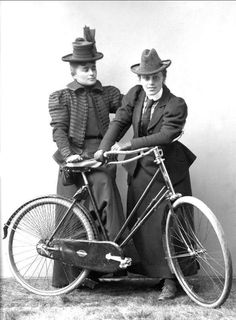 Victorian women cyclists