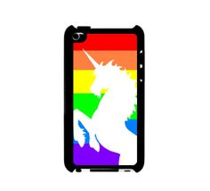 Rainbow Unicorn iPod Touch 4 Case For iPod Touch 4 by Crowdcrazy, $12.98