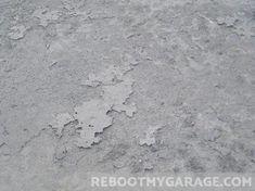 Use a wire brush, a chisel and hammer, or an angle grinder with a crack chasing wheel to loosen nearby concrete. Concrete Floor Repair, Concrete Floors, Garage Tools, Garage Storage, Wall Storage, Garage Repair, Home Repair, Clean Garage Floor, Epoxy Mortar
