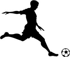 Girl Soccer Player Kicking Silhouette Sports Wall by danadecals Soccer Pro, Girls Soccer, Football Players, Funny Soccer, Soccer Shoes, Soccer Clothes, Soccer Pants, Soccer Drills, Soccer Banquet