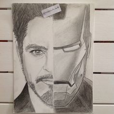 Iron man ( draw by me ) Instagram : @reasons_to_be76
