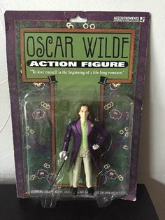 ***SOLD***Accoutrements Oscar Wilde Action Figure NEW #Accoutrements