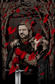 Eddard Stark - Game of Thrones - Denis O'Sullivan