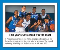 UK Basketball: Stats to get ready for the NCAA tourney