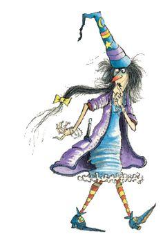 Aventuras y desventuras de la bruja Brunilda