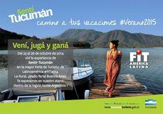 Tucumán promocionará su oferta turística en la feria más importante de América Latina