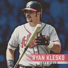 Playing left field for the #AllTFTeam, Ryan Klesko!