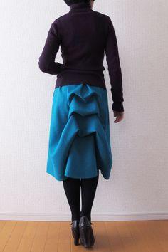 awesome bustle! Japanese pdf pattern shop