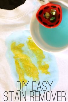 DIY laundry stain remover