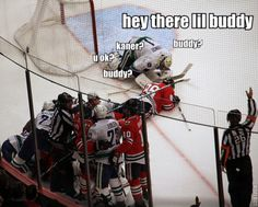 Canucks/ Blackhawks poor Kaner.......I highly doubt that's what he was REALLY saying though
