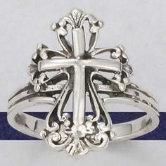 925 Sterling Silver Filigree Calatrava Cross Ring just sold to JoAnn on yardsellr. Congratulations JoAnn this is a popular ring.