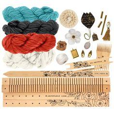 Prima Fiber Arts Loom Starter Kit - Desert Sunset 586041