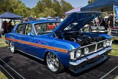 Xy falcon Australian Muscle Cars, Aussie Muscle Cars, Custom Muscle Cars, Custom Cars, Ford Falcon Australia, Ford Girl, Pagani Huayra, Old Classic Cars, Sweet Cars