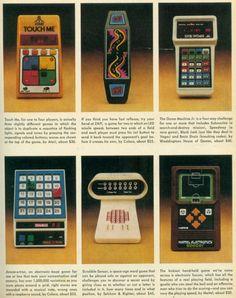 vintage handheld gaming consoles