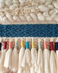 "520 Likes, 40 Comments - A n i t a M e a d e s (@bybelladesigns) on Instagram: ""Circular ambitions for 2018✨ #amoderntapestry #weaveweird #tissage"""
