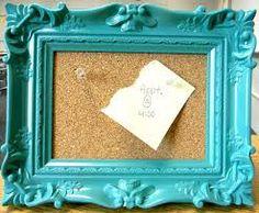 Diy Cork Board Empty Frame Foam Board And A Roll Of