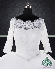 Ball Gown wedding dress by Manali Fashion