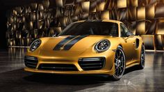 The 2018 Porsche 911 Turbo S Exclusive Series.