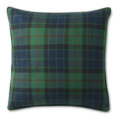 Black Watch Tartan Pillow