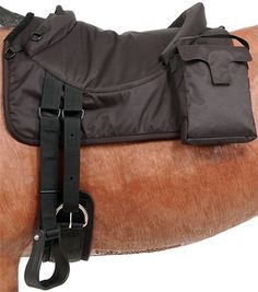 Tough-1 Premium Bareback Pad with Accessory Bags | ChickSaddlery.com