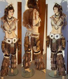 Tribal Fusion Bellydance Costume by Synari on DeviantArt