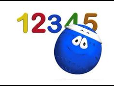 canción del 1 al 5. La pelota loca Spanish Language Learning, Math, Videos, Youtube, English, Kids Songs, Children's Literature, To Tell, Calendar Numbers