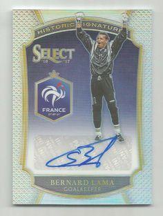 2016-17 Panini Select Soccer Bernard Lama Historic Signatures Auto 155/199   | eBay Soccer Cards, Baseball Cards, Copa America Centenario, World Cup Russia 2018, Goalkeeper, Fifa World Cup, Sports, Ebay, Goaltender