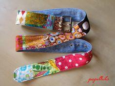 """Au pays des """"consommateurs"""" (ça existe encore, ça ??), les chutes de tissus, les boucles de ceinture cassée, les jeans troués...ON LES JETT..."""