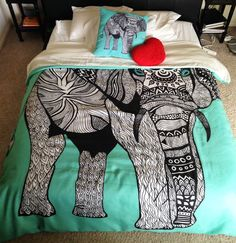 I want fun bedding, but idk about elephants