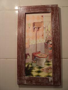 Quadrinho de banheiro