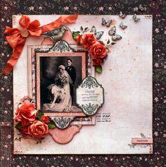 Kaisercraft - Lady Rose - Sandie Edwards