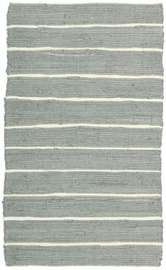 "Bermuda Rug Dark Grey 2'6"" x 4'  - Nourison - $28.99 - domino.com"