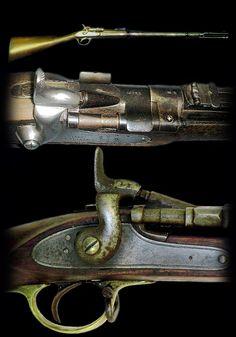 Snider Breech-Loader Rifle, used by samurai during the Boshin war era, late Edo period.
