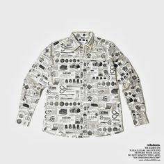 washida: wisdom® Apparel 2013 Collection | Patterned LS Shirt.
