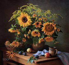 Summer still life with sunflowers by Tatiana Skorokhod on 500px