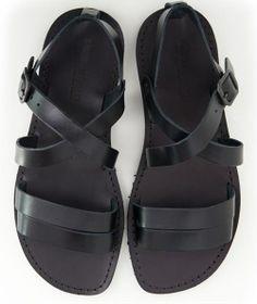 Men Leather Sandals - www.sandalishop.it