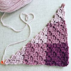 Gingham Crochet Corner to Corner Blanket in LionBrand Wool-Ease Yarn - Free Pattern, #haken, gratis patroon (Engels), C2C in ruitpatroon, steek, techniek, deken, #haakpatroon