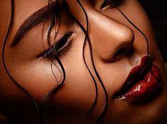 #beauty #retouching #closeup #red #lips