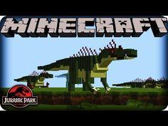 Minecraft Dinosaurs - JURASSIC PARK - SEASON 2!  Ep # 1 DANGEROUS DINOSA...
