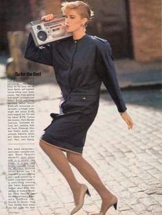 Go For The Best from…………………Vogue Jan 1983  http://80s90sredux.tumblr.com