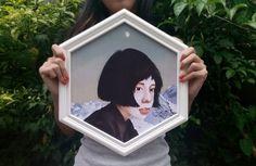 digital painting print on florida paper texture , size 30X35cm with wood frame. location Yogyakarta,Indonesia email lyamulyani@yahoo.com / Line: lyarockingmice / ig:LYAMULYANII