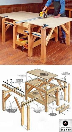 arbeitsbock bauanleitung zum selber bauen heimwerker forum projekte pinterest heimwerker. Black Bedroom Furniture Sets. Home Design Ideas