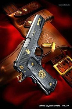 The Home of Quality Custom Firearms, Tactical Training and The Tactical Marksman's Match. Weapons Guns, Guns And Ammo, Colt M1911, Revolvers, Colt 45, M1911 Pistol, Marine Tattoo, Once A Marine, Marine Mom