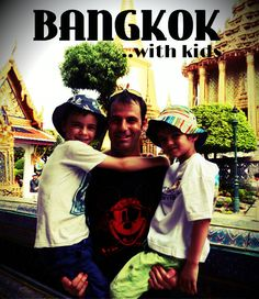 Bangkok with kids. Backpacking Thailand