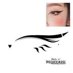 Emo Makeup, Gothic Makeup, Grunge Makeup, Eye Makeup Art, Crazy Makeup, Makeup Inspo, Makeup Inspiration, Eye Makeup Designs, Creative Eye Makeup
