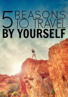 5 Reasons To Travel Solo. We are hearing about this topic all the time nowadays. People are traveling solo at all ages, and there are more and more women who are traveling solo. I am two weeks into my trip in Peru alone. I feel like a completely different person already.