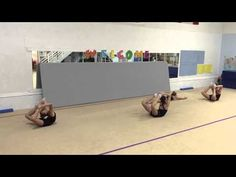 Conditioning Routine 2nd of 3 for Rhythmic Gymnastics