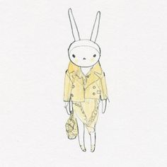 Fifi Lapin wears Mulberry